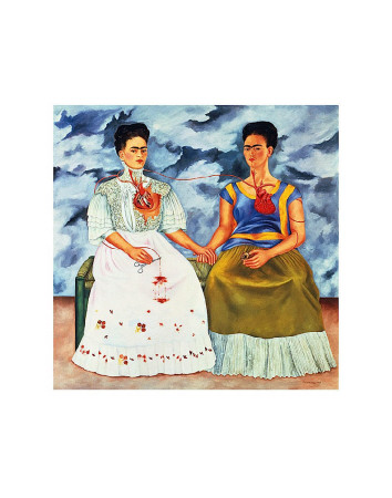 kahlo-frida-the-two-fridas plakat 33 zl aooposters