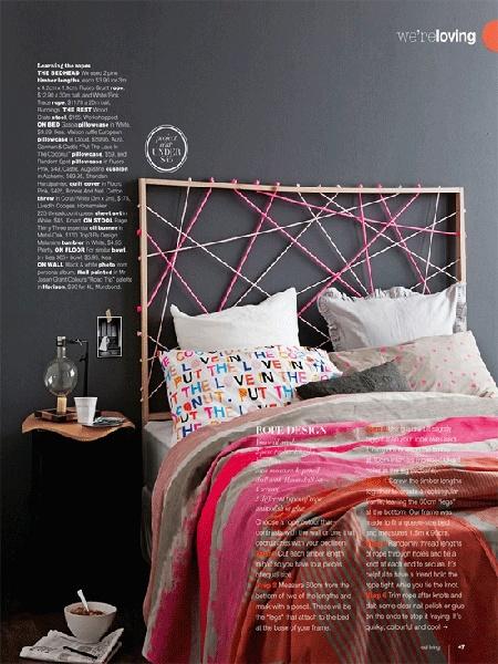 zagłówek łóżka