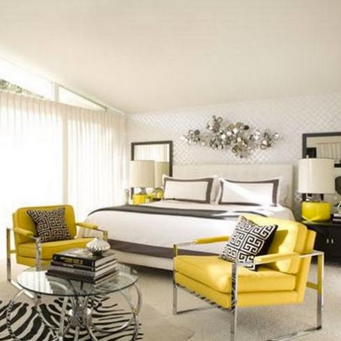 żółty pokój