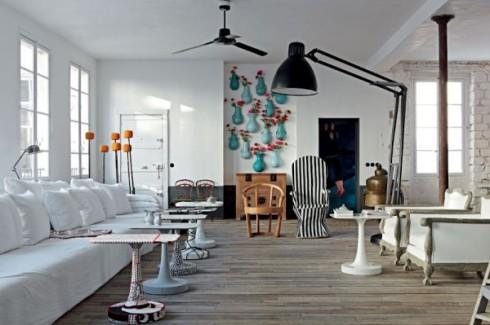 paola Nevone apartament w paryżu wnętrza