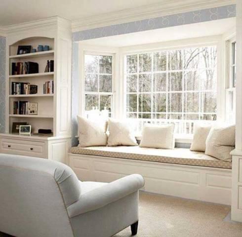 siedziska przy oknie