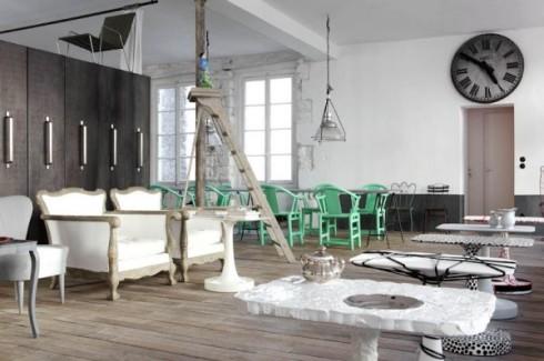 wyjątkowe wnętrza apartament Paola Nevone