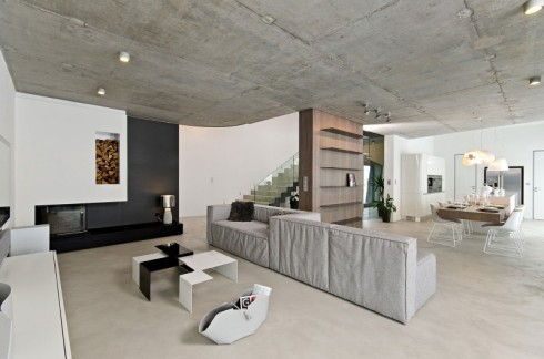 concrete in interiors_blog about interior design_scandinavian style