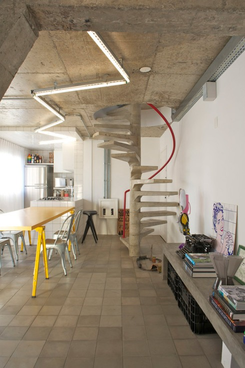 concrete in interiors_blog about interior design_scandinavian style