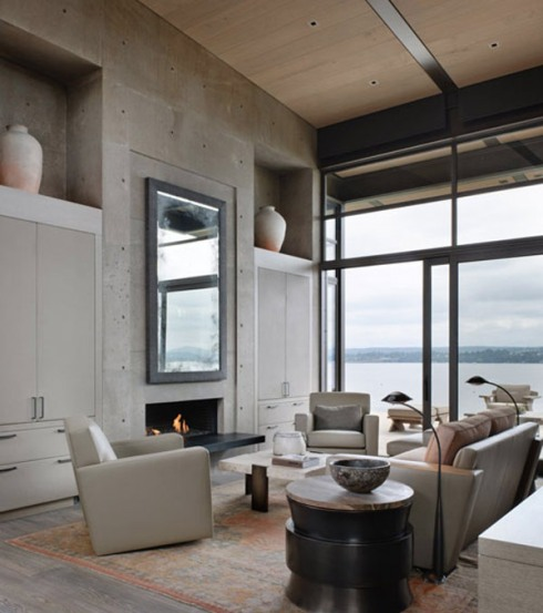concrete in interiors_blog about interior design_scandinavian style 1