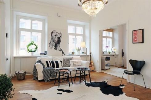poduszki lniane w stylu rustykalnym blog o wnętrzach