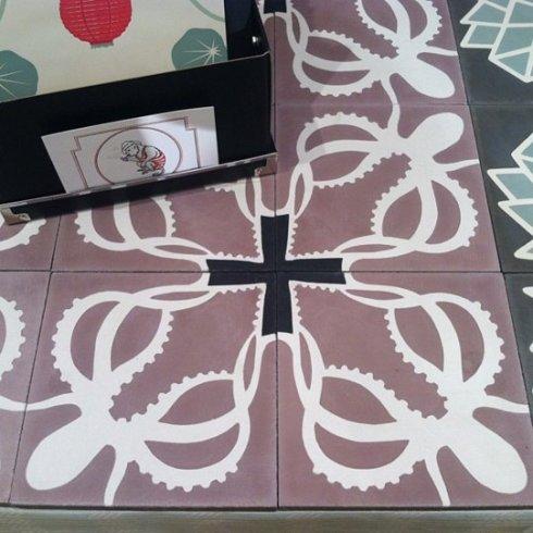 kafelki w ośmiornice_Katie Deedy_targi mebli w Nowym Jorku_blog o wnętrzach