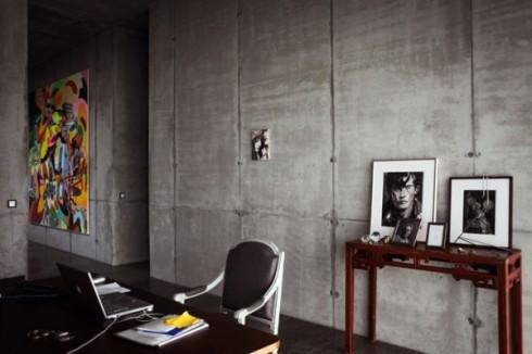 betonowe sciany w mieszkaniu_szare ściany_blog o wnętrzach 6