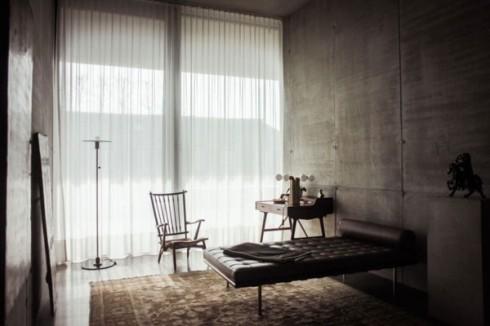 betonowe sciany w mieszkaniu_szare ściany_blog o wnętrzach 8